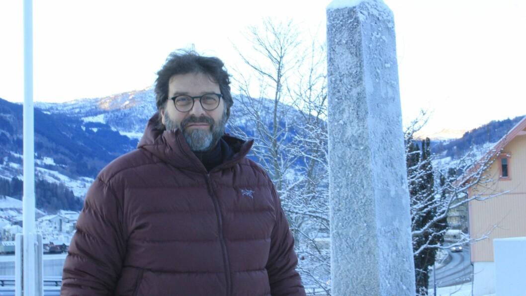 Paul Hough har jobba litt her og der fleire plassar i Noreg, men kjem alltid tilbake til Sogndal.
