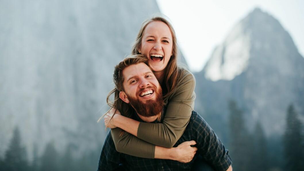 KONE: Olav Sørheim saman med kona Rachel som han møtte på disippeltreningskule. Dei er no saman i Armenia.