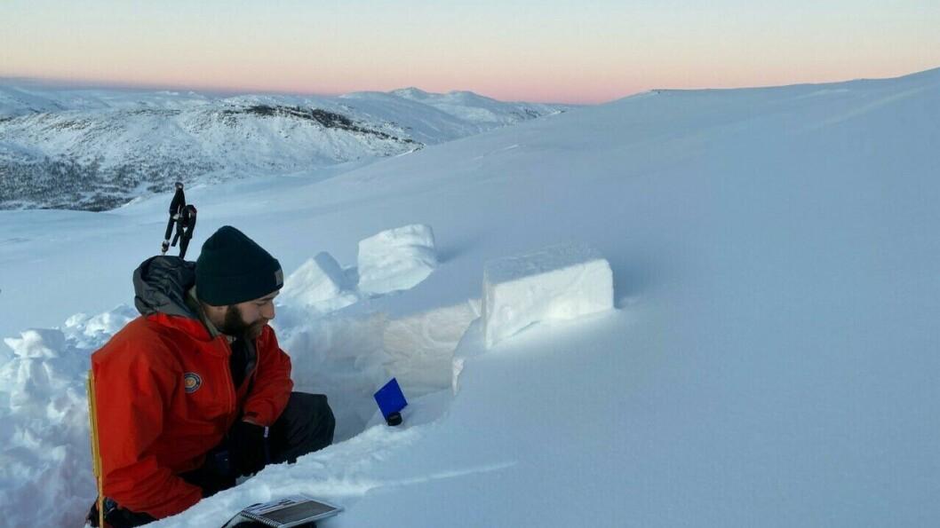 KOORDINERER: NVE arbeider no med å kartleggje snøskredfaren på Vestlandet