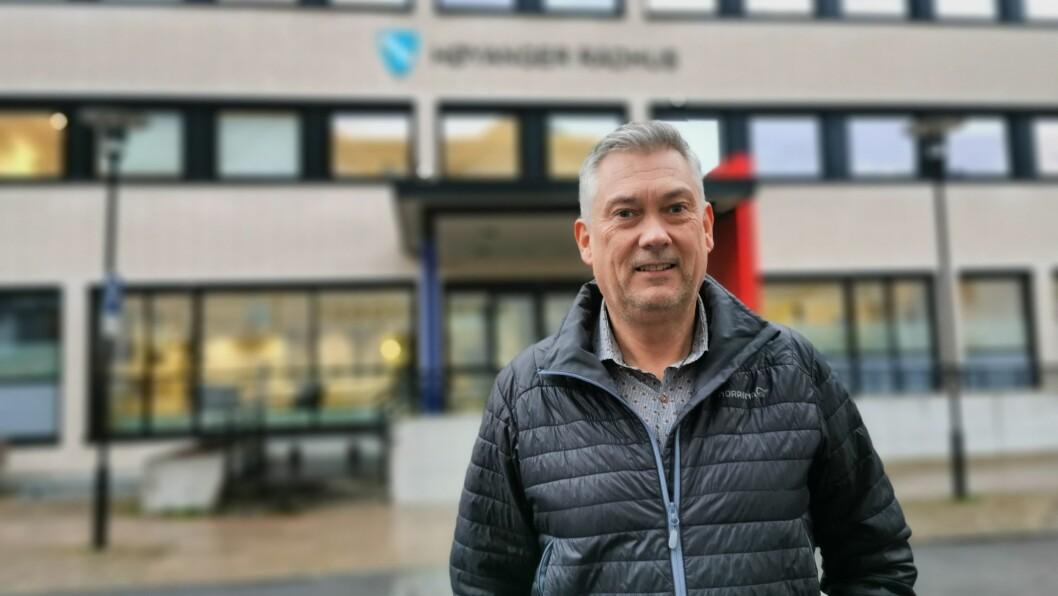 TILSETTING: Styreleiar i HNU og ordførar, Petter Sortland, er med i tilsettingsutvalet for ny næringssjef i Høyanger.