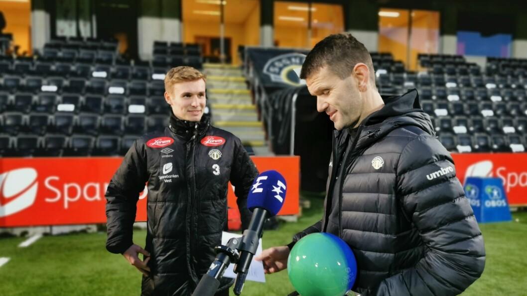 LAGT INN: Nidaros skriv at Rosenborg har lagt inn bud på Sivert Mannsverk (t.v)