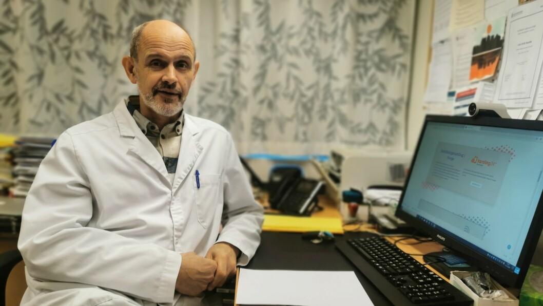 TOLMOD: Smittevernlege i Sogndal Kommune Leiv Erik Husabø ber folk vere tolmodige, då dei nasjonale smitteverntiltaka truleg vert forlenga.