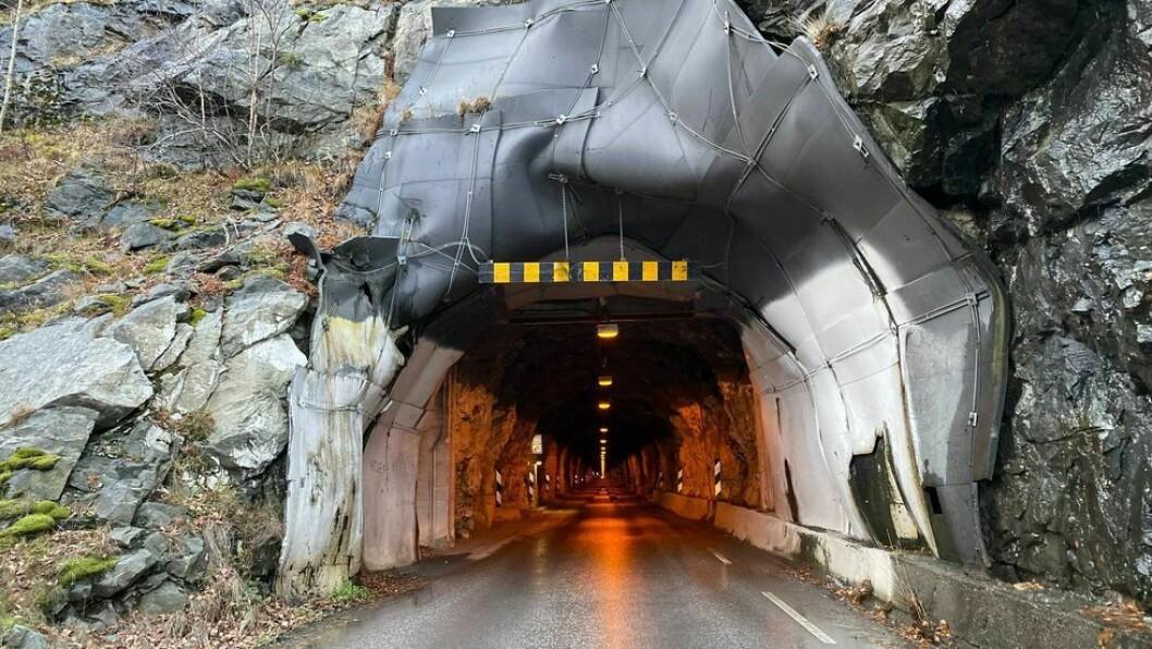 FYLKESVEG 5633: Seimsdalstunnelen i Årdal kommune.