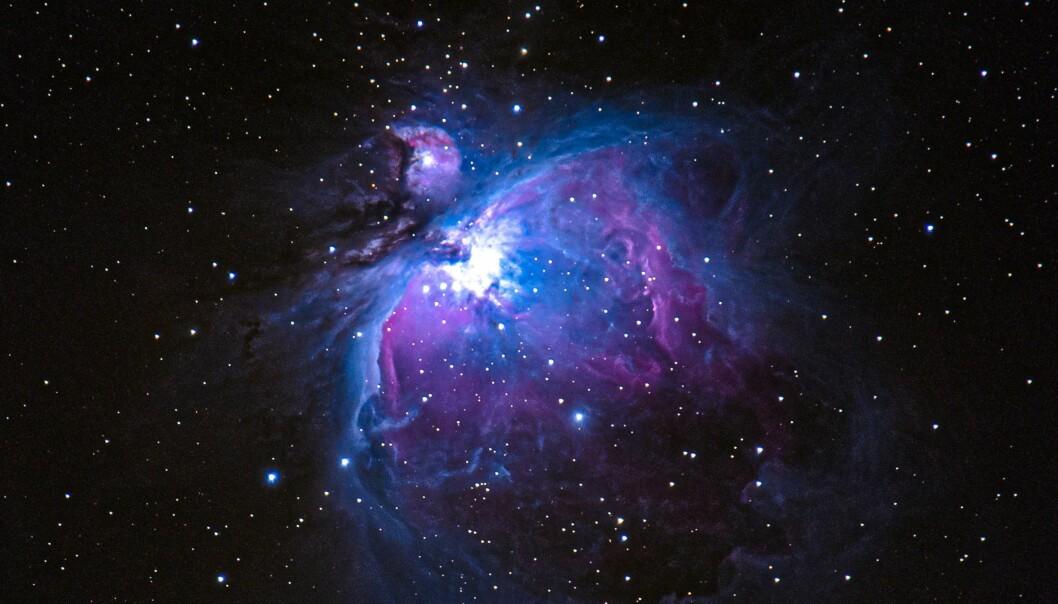 20210114 DEEPSKY Oriontpåken fra Haukåsen - Sequator