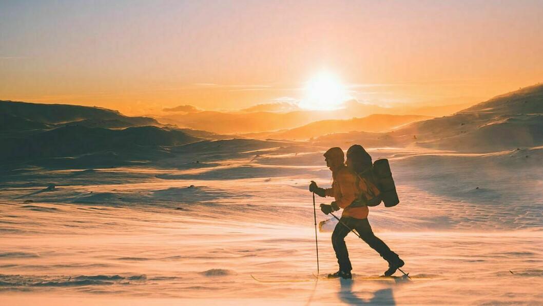 VINTERFJELLET: Det er lite som slår ein skitur i kaldt og klart vintervær.
