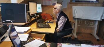 Dagfinn (82) har ein sjeldan gründer-spire i seg. No skal han utvikle ein ny app, med Innovasjon Norge i ryggen
