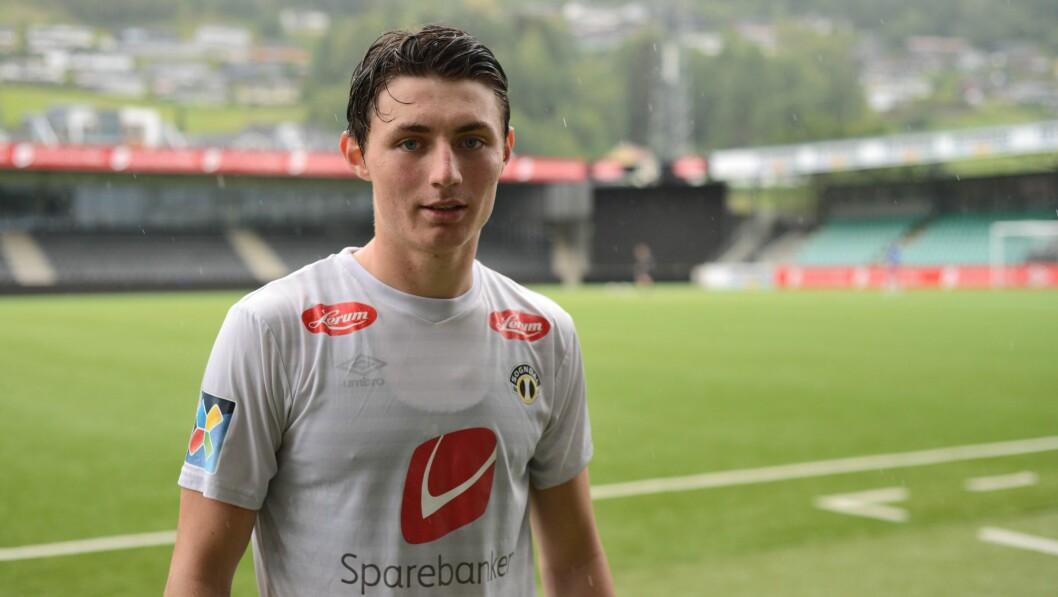 Eirik Lereng har spelt på Sogndal Fotball sidan 2019. No får han meir tid.