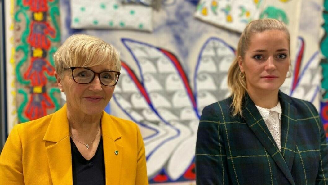 SP: Liv Signe Navarsete og Emilie Enger Mehl.
