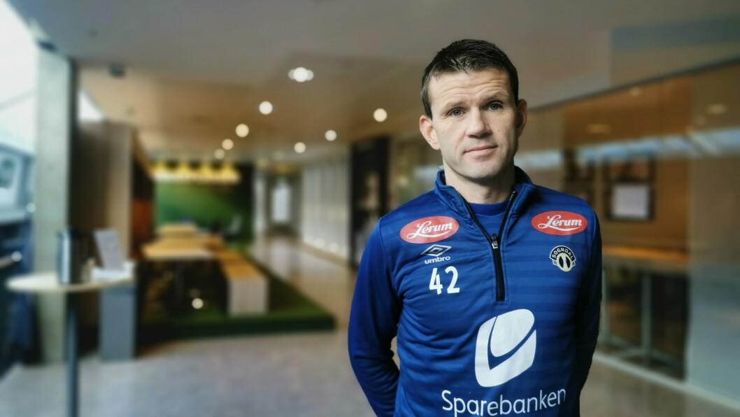 PÅ ØNSKELISTA: Eirik Bakke har vore i kontakt med spelaren, og er klar på kva han vil.