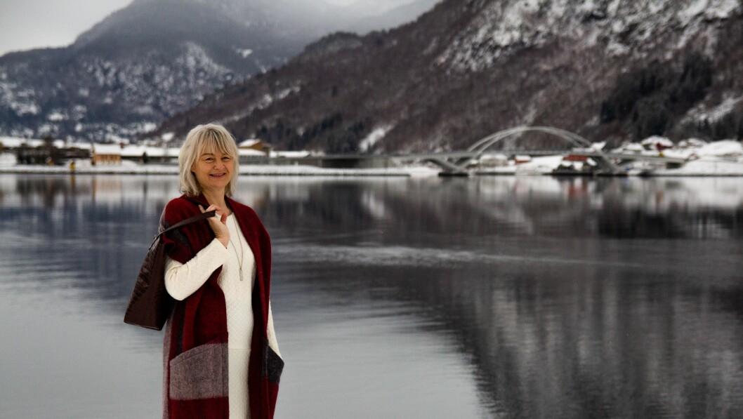 FELLES DUGNAD: Heidi Fossnes Helle fortel at miljøfokus er ei aukande trend hjå bedrifter, både grunna krav frå det offentlege, og kundar.