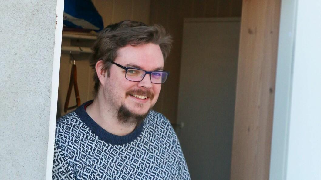 TESTA SEG: Ole Eilifsen var ein av dei som testa seg torsdag.