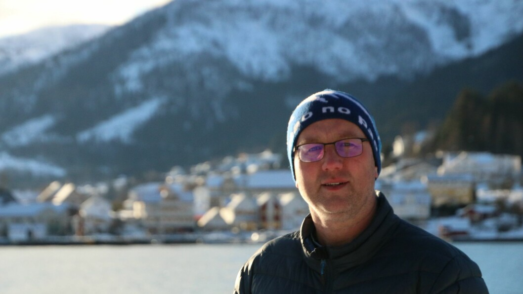 NY SMITTE: Ordførar Arnstein Menes kan fortelje at fire nye personar er smitta i Balestrand.