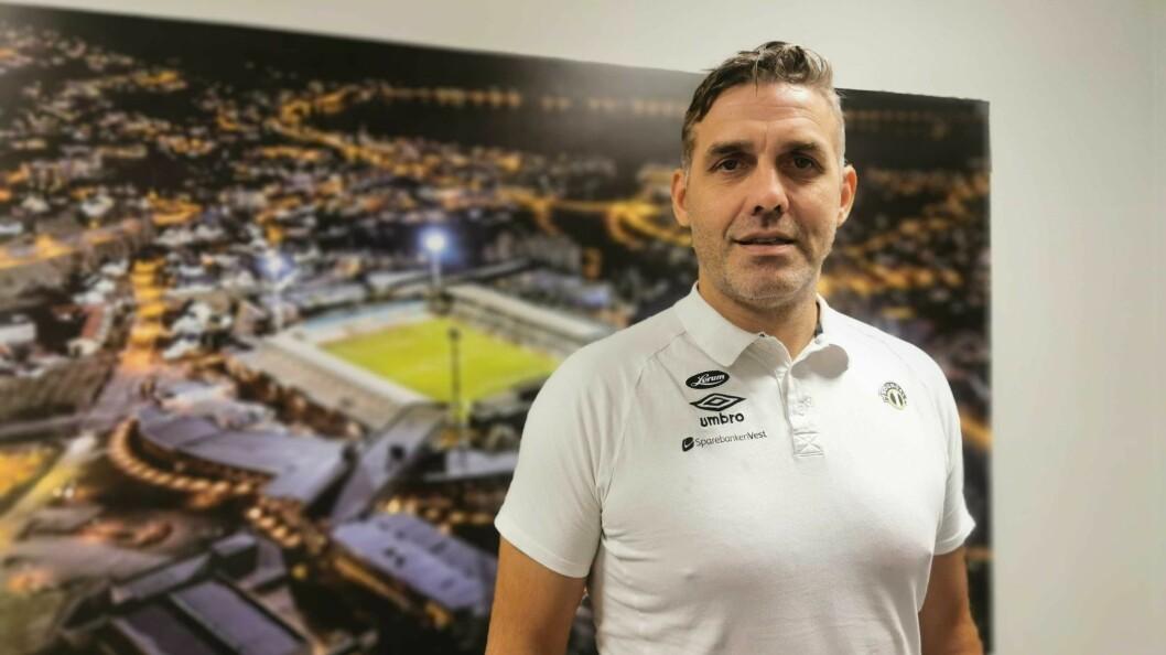 NØGD: Sportssjef i Sogndal Fotball Håvard Flo er glad for at forhandlingane endeleg er i boks.