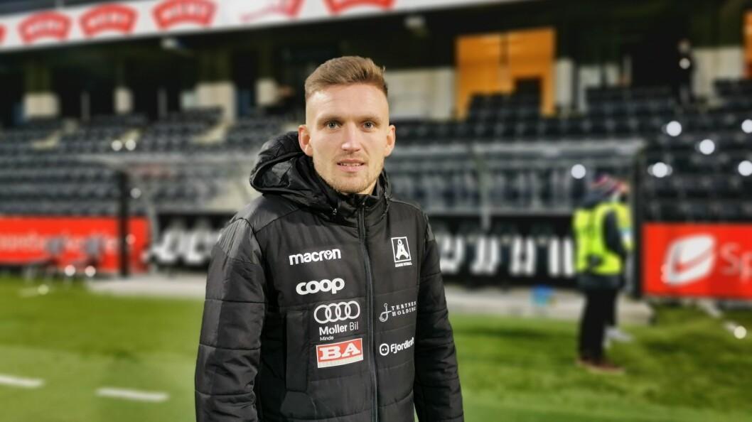 FORVENTNINGAR: Sogndal fotball kjem med ein uttalelse klokka 14.00. Det er forventa at Kristoffer Valsvik skal vere klar for klubben denne veka.
