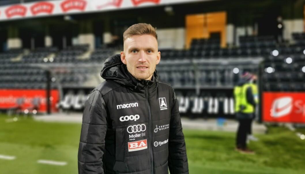 IK START: Etter samtalar med Kristoffer Valsvik er det beslutta å gjennomføra ein overgang til Start, skriv Sogndal Fotball.