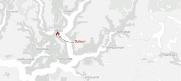Oppussing utløyste brannalarm i Solvorn