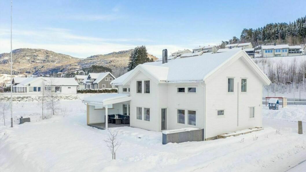 HAFSLO: Hestnes 77 er det dyraste huset som ligg ute for sal i bygda.