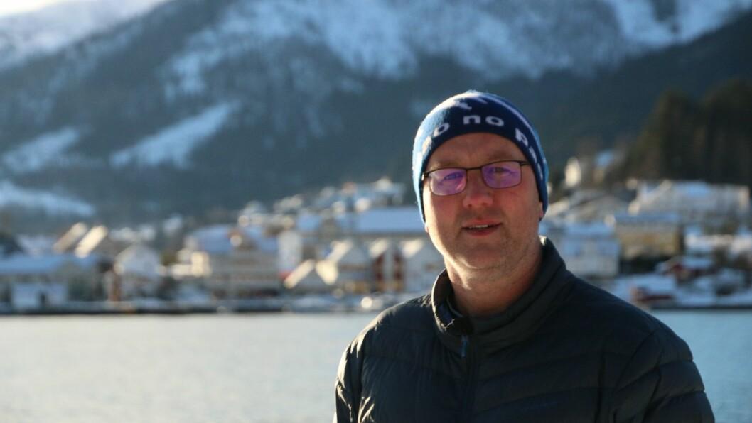 LETTA: Ordførar Arnstein Menes i Sogndal kommune er letta over dei siste prøvesvara som har komme inn.