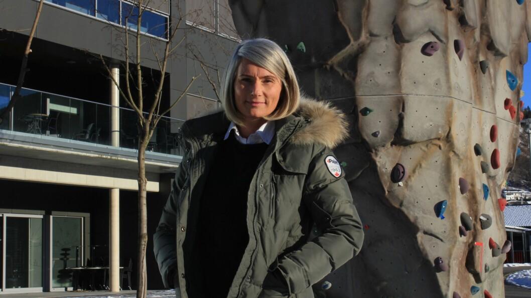 Elisabeth Heggestad har travel dagar. Ikkje berre er vinteren ein topp på tal studentar som kjem innom, men det aukar for kvart år.