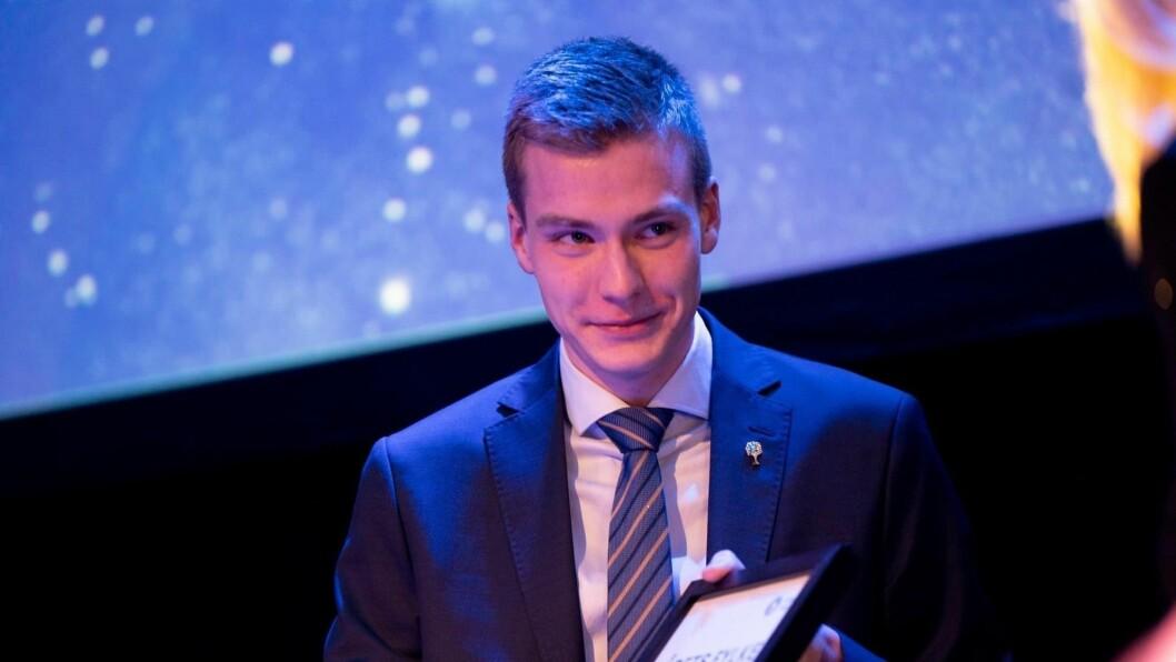 ENGASJERT: Elias Eide er fjerde kandidat i Høgre Sogn og Fjordane og krinsleiar Sogn og Fjordane Unge Høgre.