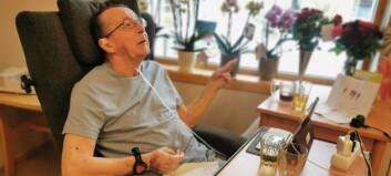 Då Arnfinn fylte 70 år, fekk han ei heilt spesiell bursdagsgåve: – No er eg fri!