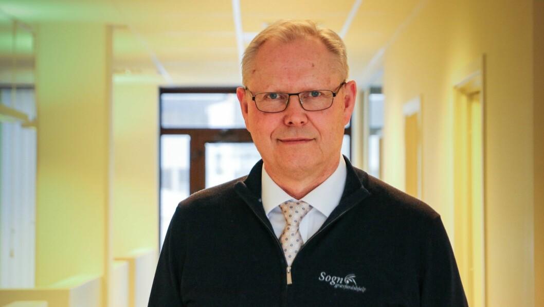 SAMARBEID: Sogn Gravferdshjelp må få hjelp frå Sunnfjord dersom dei skulle vere så uheldige å få koronasmitte inn i verksemda, fortel dagleg leiar Kjell Grønli.