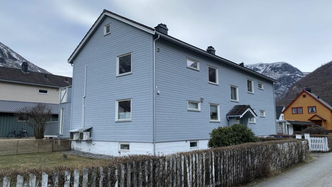 SELD: Ei leilegheit i Vesvollvegen 2 gjekk for 700.000.