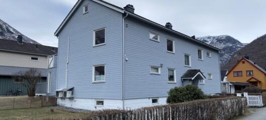 Leilegheit i dette huset hadde ein prislapp på under ein million