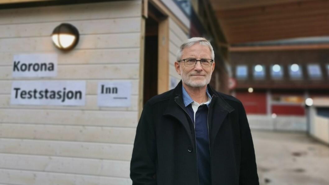 KONTROLL: Kommuneoverlege Knut Cotta Schønberg er sikker på at dei har kontroll på situasjonen i Luster.
