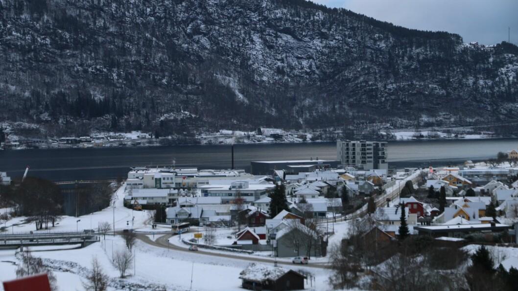 IKKJE NATTERO: Fleire melde inn at natteroen vart forstyrra natt til sundag Sogndal sentrum.