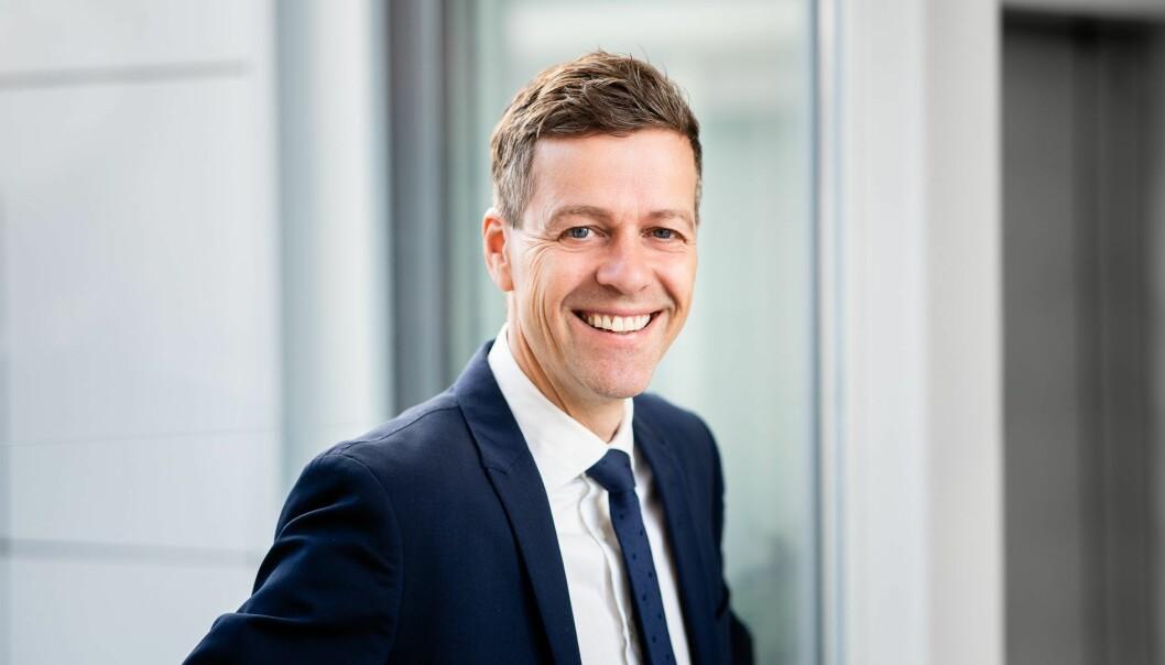 TRANSPORTPLAN: Samferdselsminister Knut Arild Hareide greier ut om Nasjonal Transportplan.