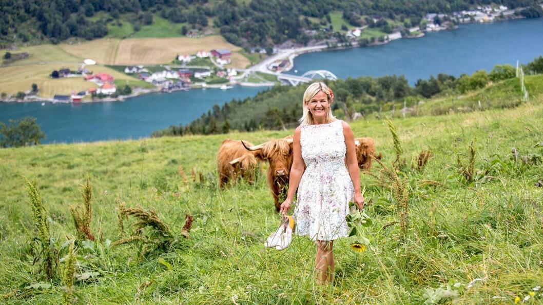 DEBUTT: Kristin Vee valgte å forlate gård og jobb mitt i koronatida for å skrive. No debuterar ho som spaltist i Porten.