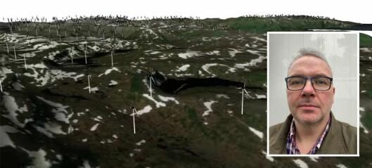 Vindkraftanimasjonar har skapt stort engasjement: – Ville syne korleis eit verst mogleg utfall kan bli