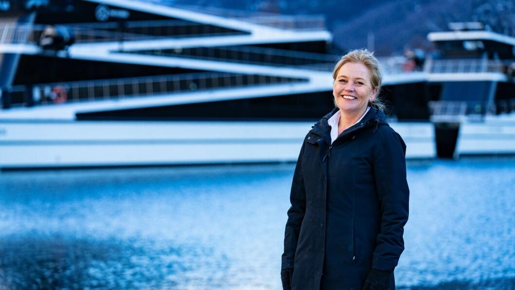 STORSATSING: Konsernsjef i Flåm AS,Solrun Hjelleflat meiner at ei nasjonal satsing var det naturlige neste skrittet dei.