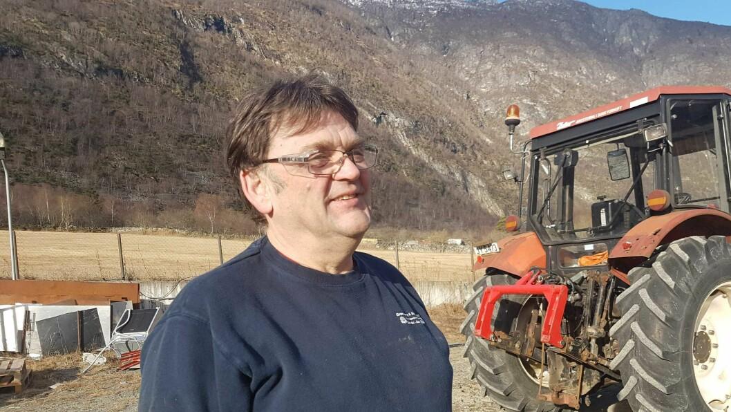 NØGD: Reidar Grønsberg har prøvd å leige ut eller selge lenge. No fekk han endeleg mogelegheita.