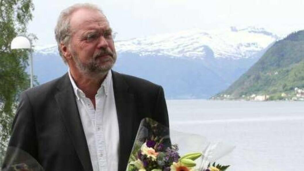 INNLAGD: Lars Sponheim er innlagd på sjukehus.