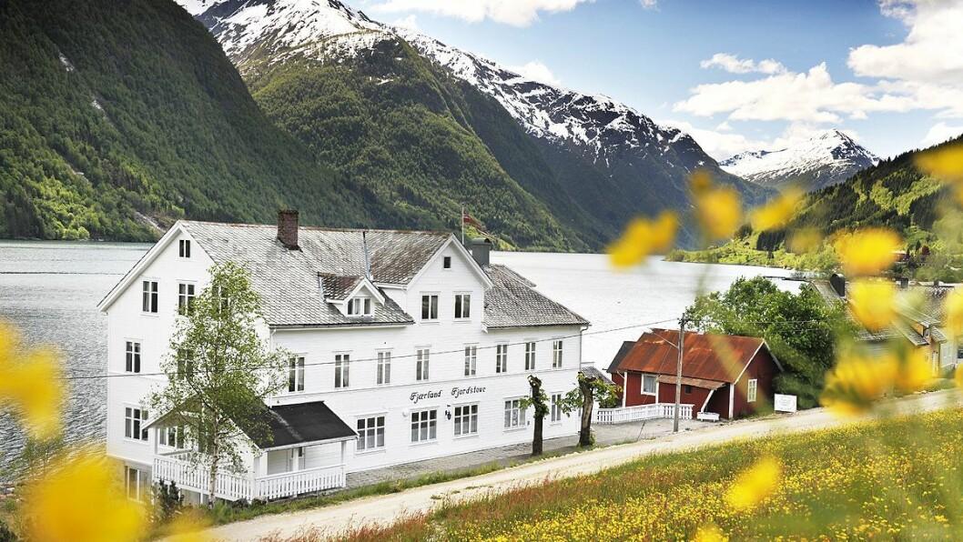 ENDRINGAR INNAD: Fjærland Fjordstove Hotell & Restaurant er på lista over tinglyste eigedommar.