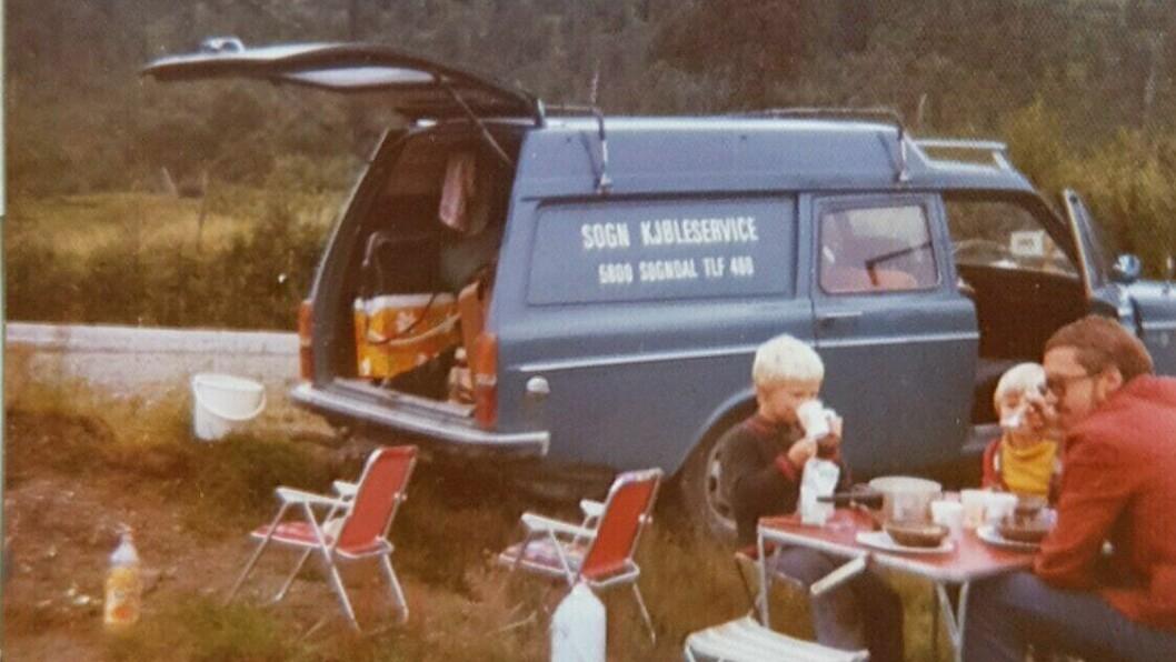 BEGYNNELSEN: Det heile starta med ein køyretur til Oslo for å fylle opp ein gamal varebil med verktøy.