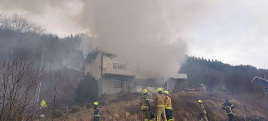 Hus overtent på Hafslo: – Alle er gjort rede for