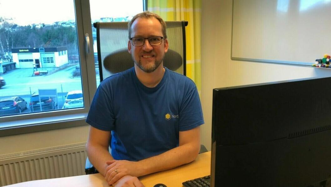 NY LEIAR: Tor Arne Fagerli er ny fabrikksjef på NorSun i Årdal