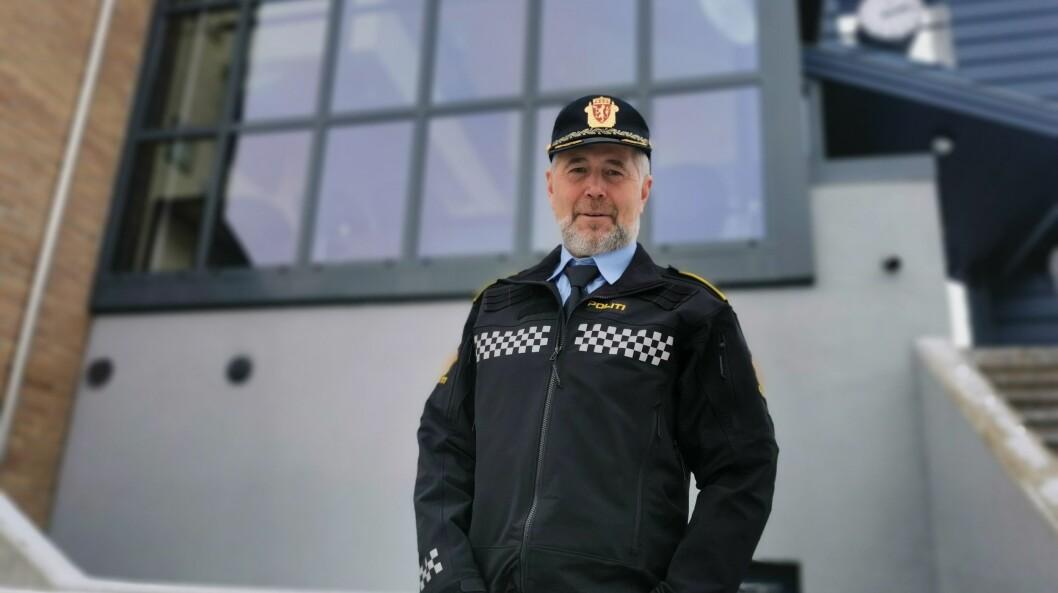 LENSMANN: Arne Johannessen er politisjef i Sogn og fjordane.