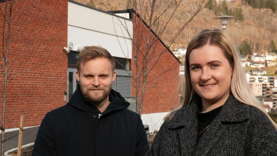 PERMANENT: Ola Weel Skram vert ansvarleg redaktør medan Kristine Haglund tek over som dagleg leiar i Porten.