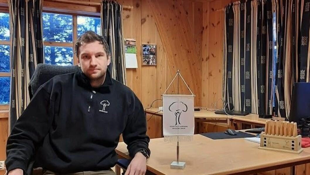 LEIAR Ruben R. Bøtun er dagleg leiar Sogn og Fjordane Skogselskap.