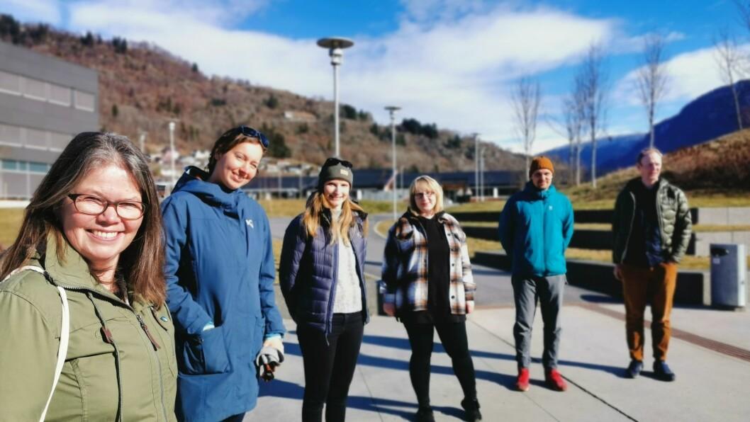 TYNGDE: Varaordførar i Sogndal Vibeke Johnsen (SV) kan glise over å ha eit heilt team frå Vestlandsforsking i ryggen, når ho å skal rette fokus inn mot klimapolitikk i distriktet.