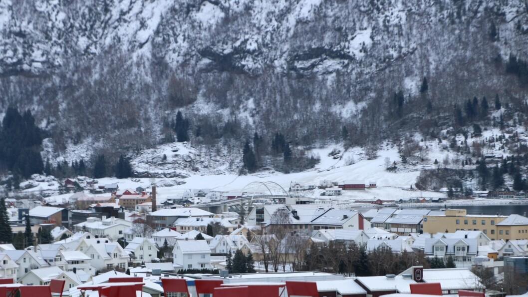 SMITTETILFELLE: Sogndal er ein av tre kommunar med smittetilfeller onsdag.