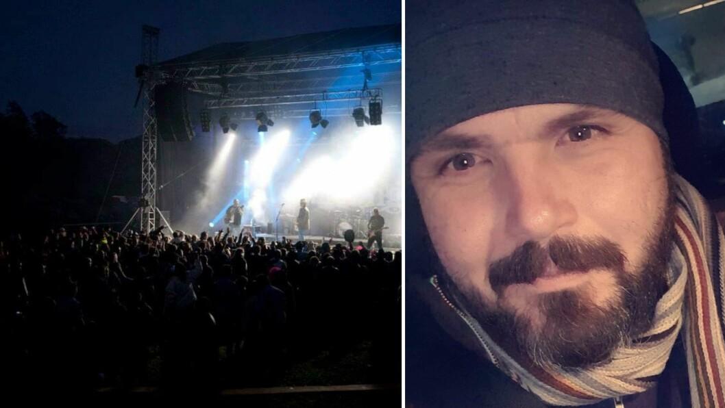 HOWDY: No kryssar både Terje Steine Mjøs og resten av arrangørane både fingrar og tær for at det blir cowboyfestival i Eivindvik i juni.
