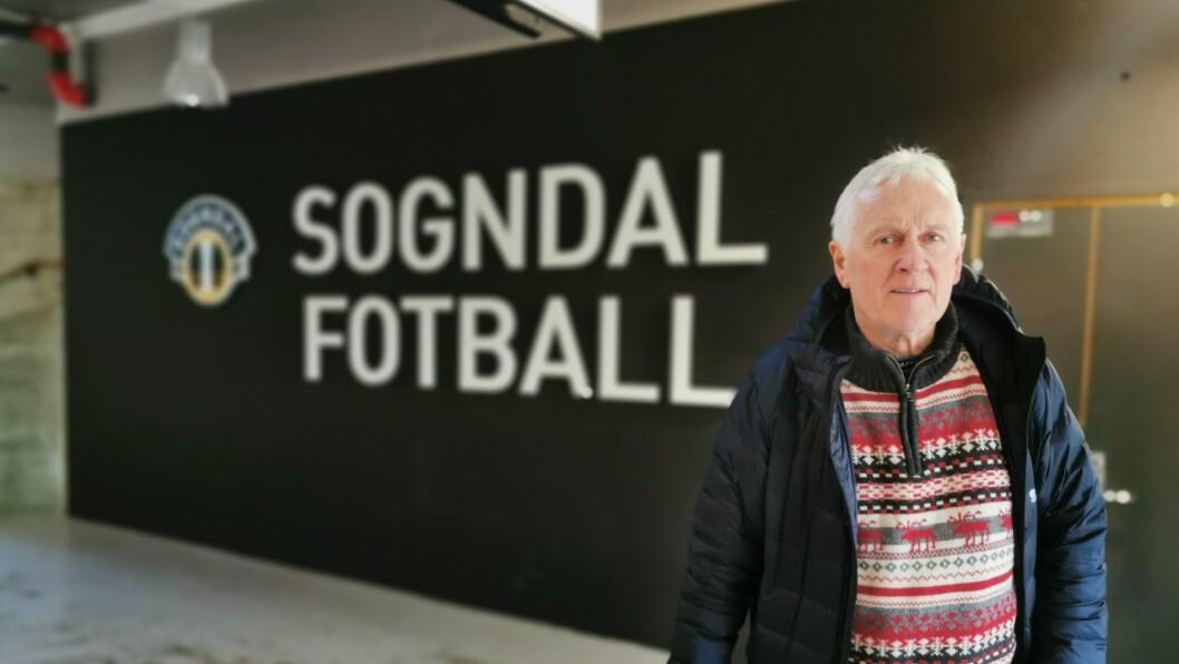 Jon Navarsete meiner Sogndal fotball er godt budde for sesongen som kjem
