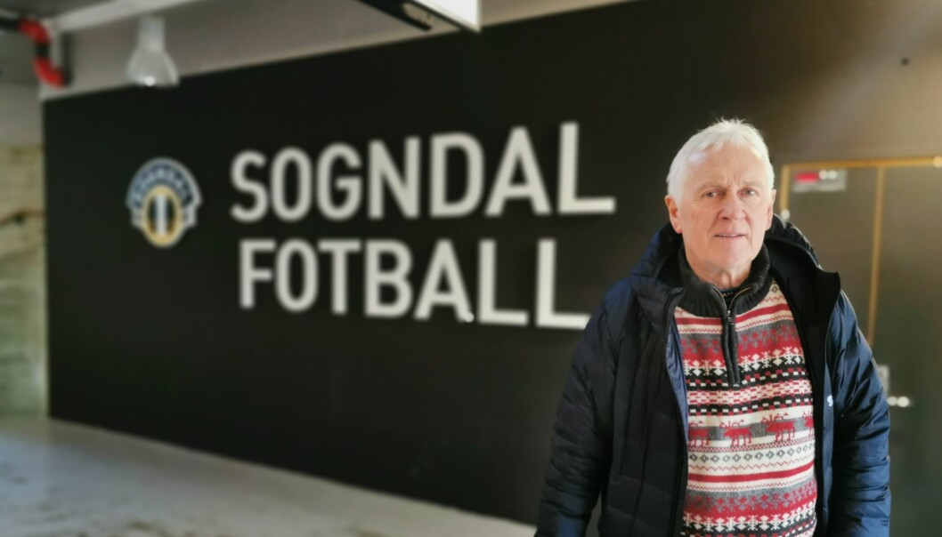 DOMINERTE: Jon Navarsete meiner Sogndal dominerte mot Åsane under søndagens kamp på Fosshaugane.