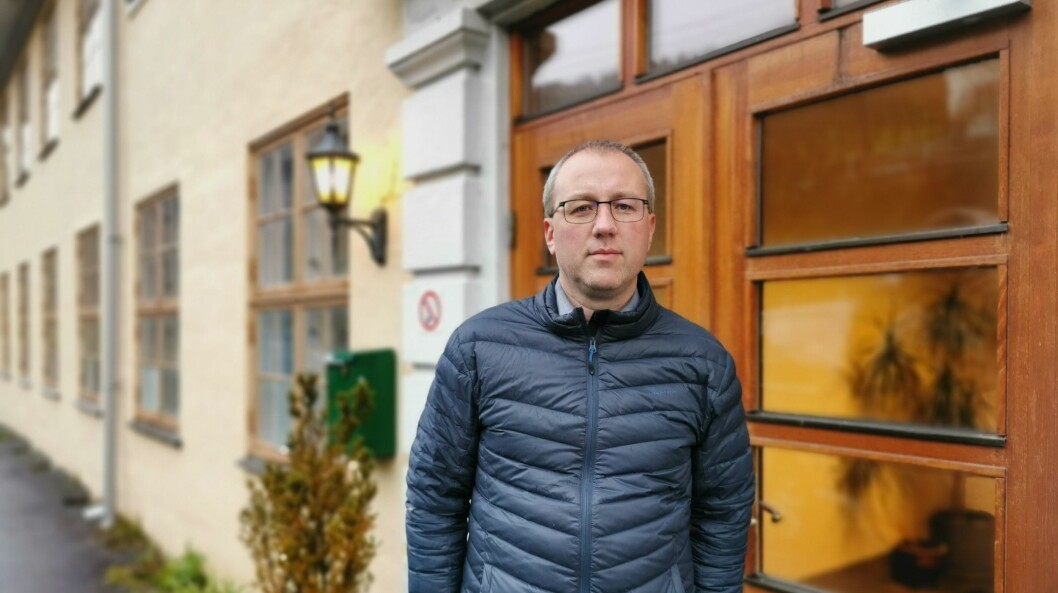 SKUFFA: Ordførar Arnstein Menes er ikkje nøgd med bråket rundt tilsetjinga av Arne Johansen som til slutt førte til at han valde å trekkje seg frå prosessen.