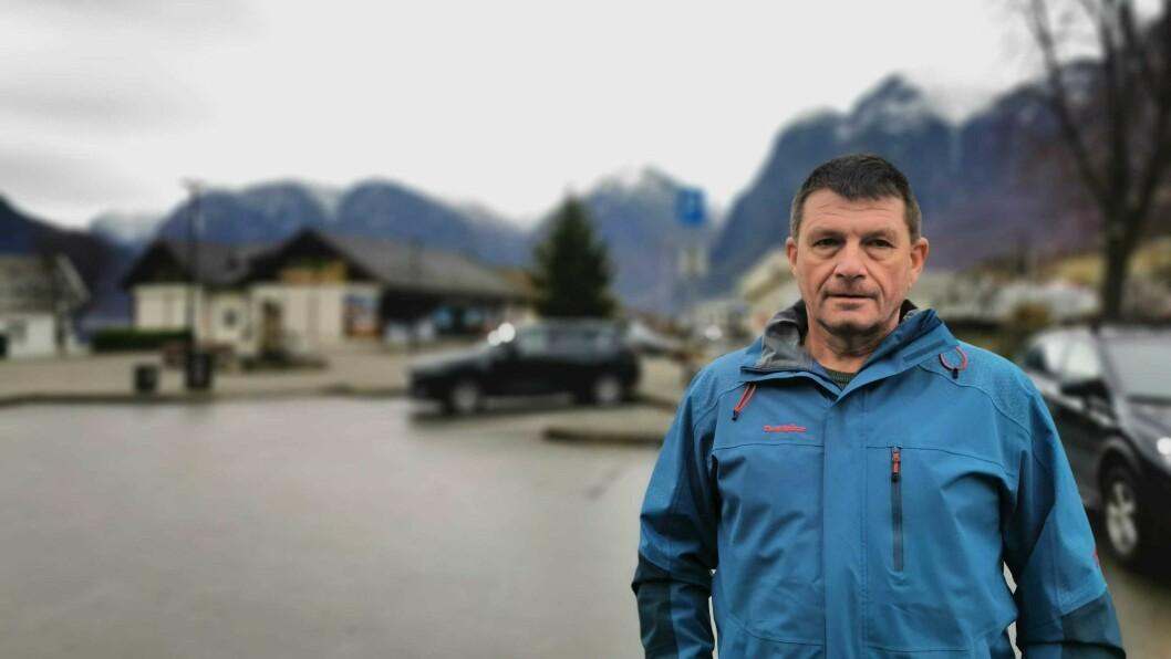 IKKJE DET BESTE FELTET: Ordførar Trygve Skjerdal innrømmer at kommunen ikkje fekk det beste resultatet innan byggjesaker.